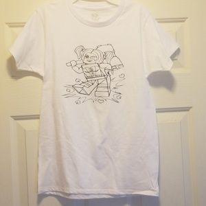 Handcrafted Harley Quinn shirt